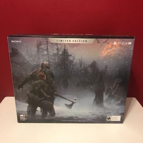 ps4 pro god of war limited edición paquete 1 tb
