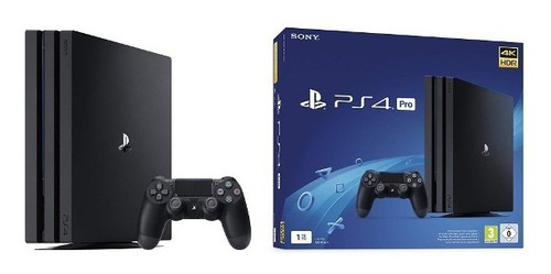 ps4 pro play station 4 pro hdr 1 tb + juego pes 2020