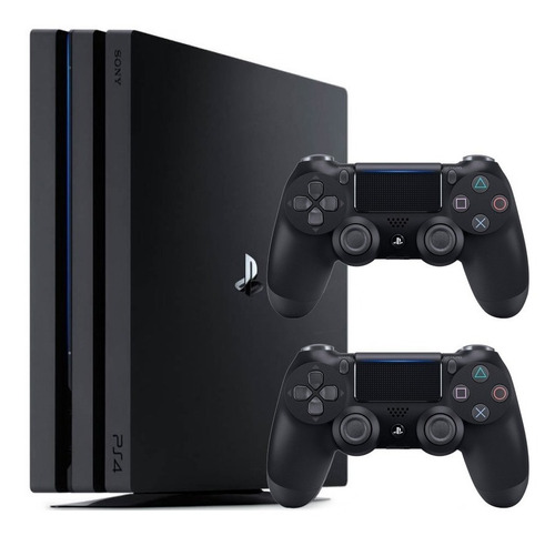 ps4 pro playstation 4 pro 1tb cuh 7215b 2 controles
