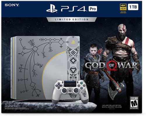 ps4 pro sony playstation 4 pro god of war bundle limited
