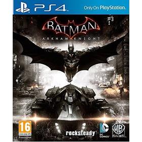 Ps4 Secundario Batman Arkham Knight Juego Digital