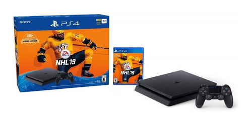 ps4 slim 1tb + nhl 19 - phone store