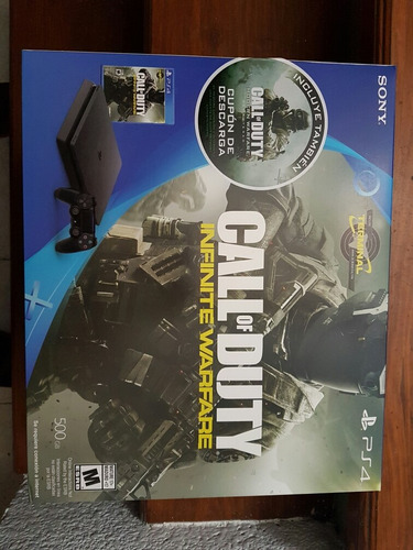 ps4 slim call of duty infinite warfare - playstation 4
