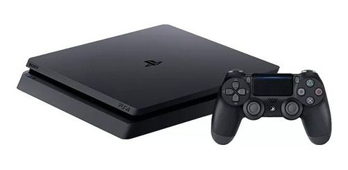 ps4 slim sony 1tb playstation 4 + 1 joystick + 3 juegos hits
