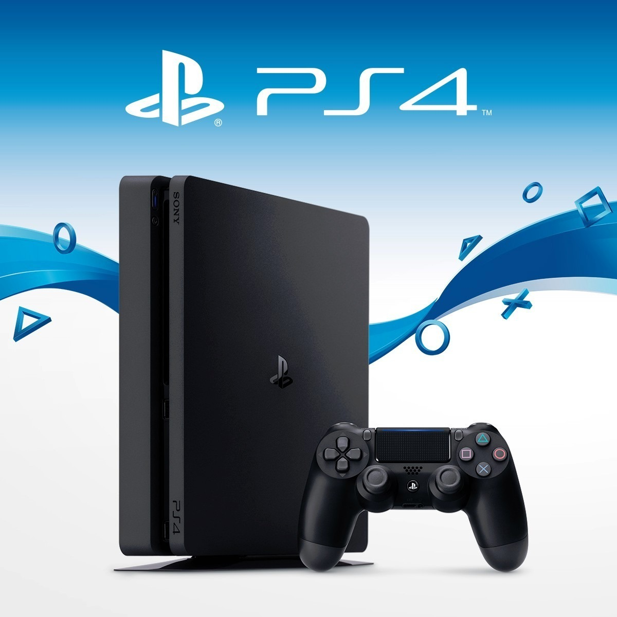 64a67283f Ps4 Sony Slim 1024 Gb 2115b Pronta Entrega - R  1.398