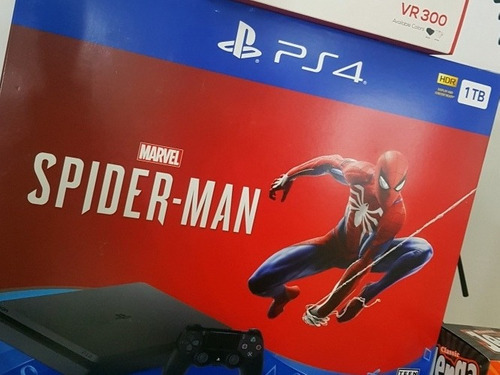 ps4 spiderman slim 1tb nuevo sellado