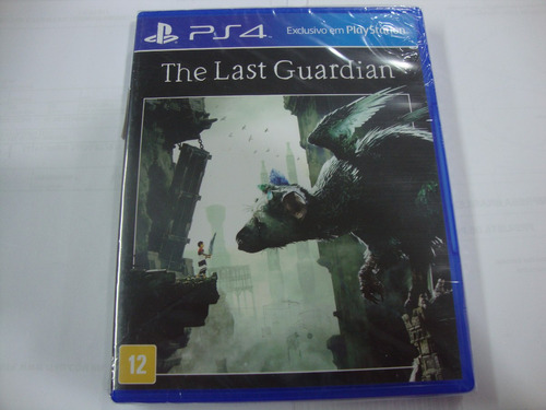 ps4 : the last guardian  jogo seminovo original mídia física
