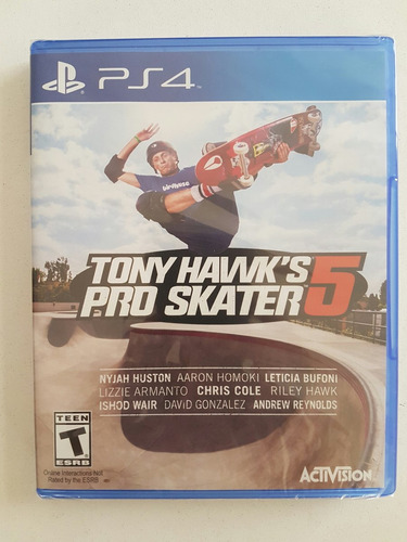ps4 tony hawks pro skater 5 nuevo original