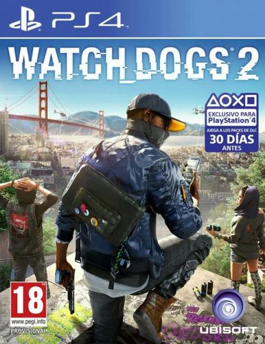 ps4 watchdogs 2 nuevo sellado
