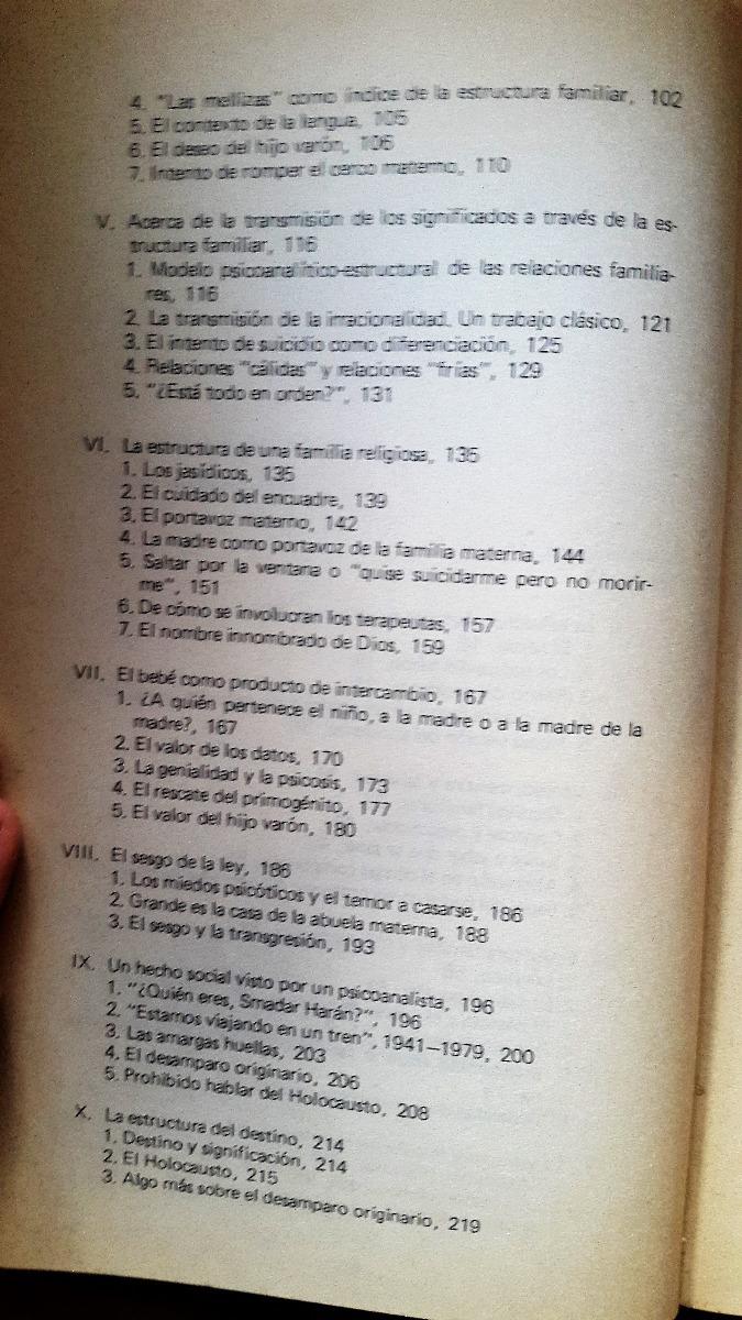 Psicoanalisis De La Estructura Familiar Berenstein 300 00