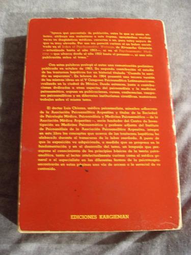 psicoanálisis de los trastornos hepáticos - luis chiozza