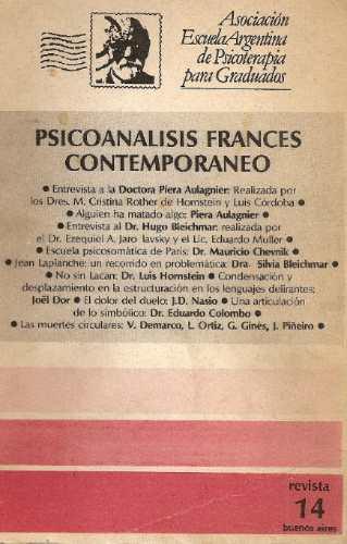 psicoanalisis frances contemporaneo