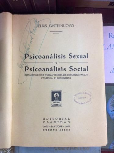 psicoanálisis sexual y social, elias castelnouvo
