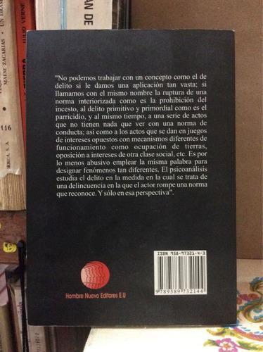psicoanálisis y criminología. estanislao zuleta