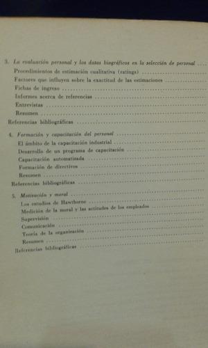 psicologìa aplicada. volumen 1 psicologìa del personal.