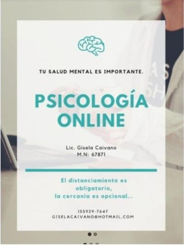 psicóloga clínica adultos y adol. perito. psicodiagnosticos