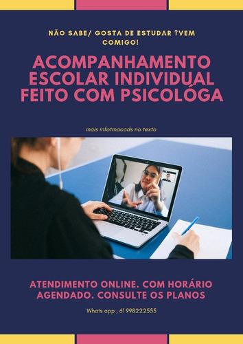 psicóloga / psicanalista/ coach de estudos online