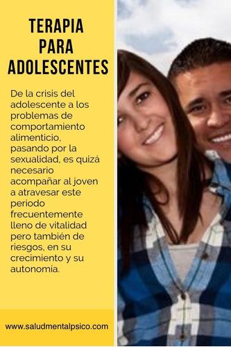 psicóloga psicoanalítica focal adolescentes adultos parejas