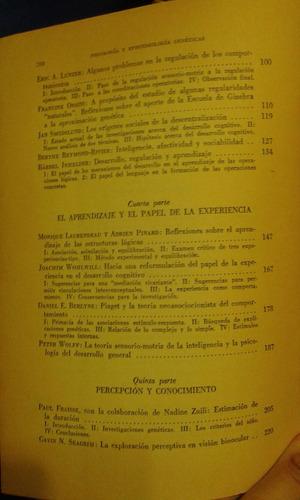 psicologìa y epistemologìa genèticas. temas piagetianos.