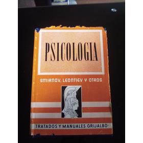 Psicologia A A Smirnov S L Rubinstein Y B M Tieplov