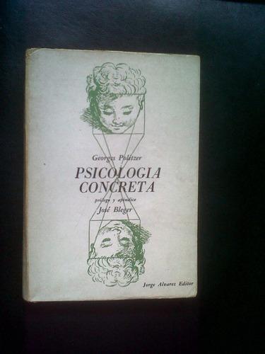 psicología concreta, georges politzer.