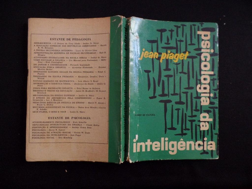 d0c12acb08e psicologia da inteligência - jean piaget. Carregando zoom.
