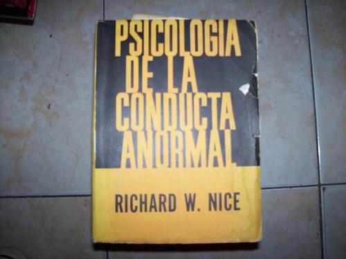 psicologia de la conducta anormal - richard nice