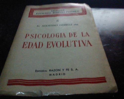 psicologia de la edad evolutiva  agostino gemelli