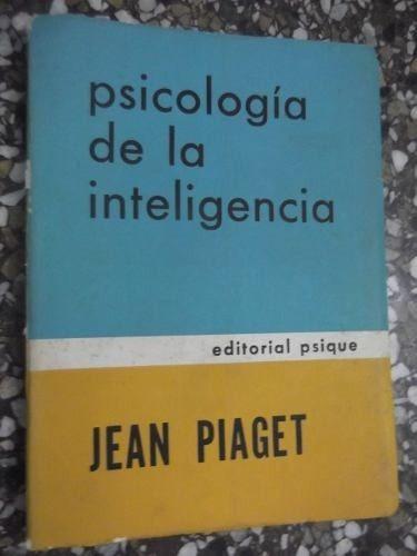 psicologia de la inteligencia jean piaget