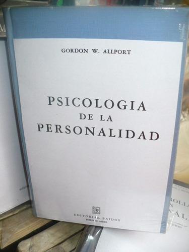 psicologia de la personalidad - alport tapa dura