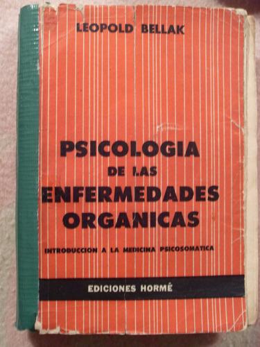 psicología de las enfermedades orgánicas - leopold bellak