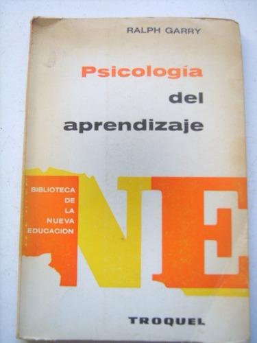 psicología del aprendizaje de ralph garry