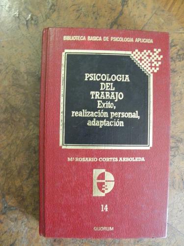 psicología del trabajo cortes biblioteca psicología aplicada