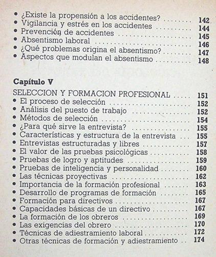 psicología del trabajo éxito realización personal adaptación