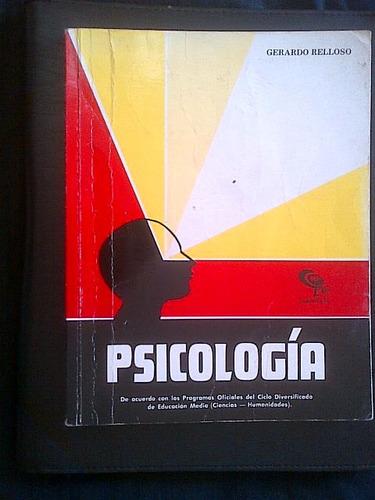 psicologia  educacion media de gerardo belloso