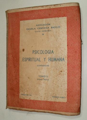 psicologia espiritual y humana escuela cientifica basilio