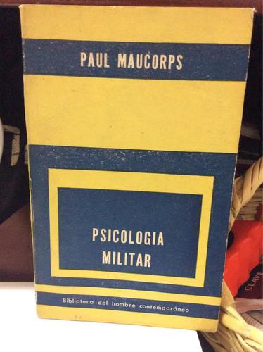 psicología militar - paul maucorps