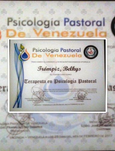 psicología pastoral, atención/capacitación enfoque cristiano