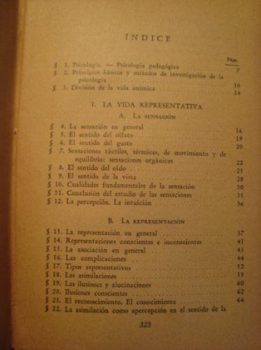 psicologia pedagogica, arturo stossner 1944