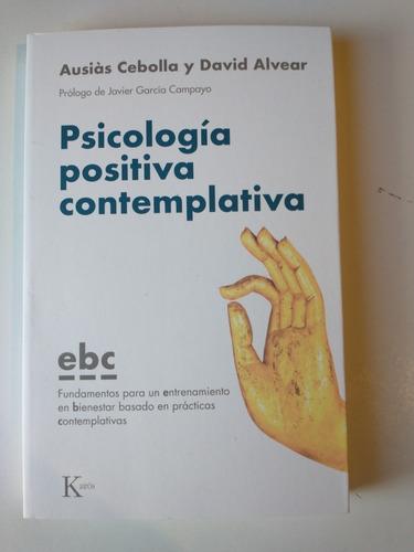 psicología positiva contemplativa ausias cebolla