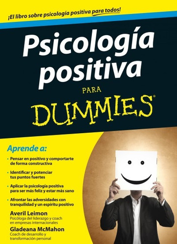 psicología positiva para dummies(libro )