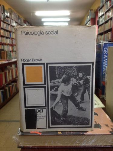 psicología social. roger brown.