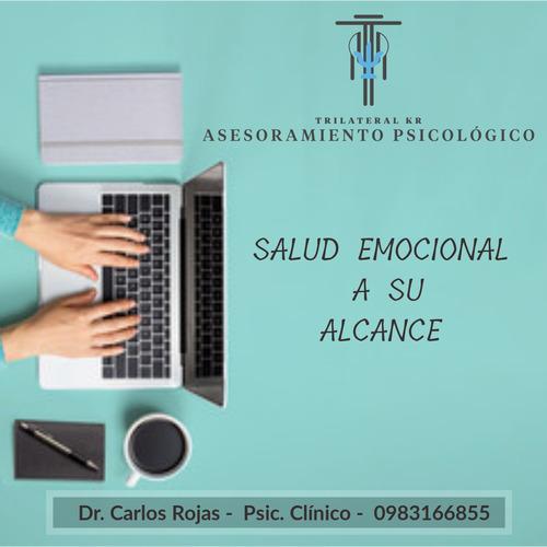 psicólogo clinico on-line  consulta psicológica profesional.