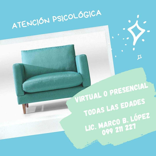 psicólogo/ terapia/ psicodiagnóstico/especialista en clínica