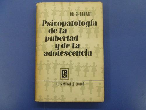 psicopatología de la pubertad y de la adolescencia, rouart