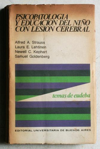psicopatología educación del niño con lesión cerebral / 1969