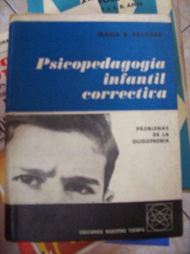 psicopedagogia infantil correctiva por maria s pevzner