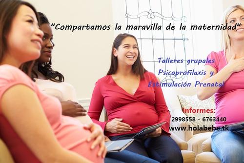 psicoprofilaxis  estimulación prenatal a domicilio