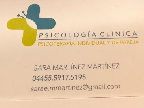 psicoterapia individual y de pareja - psicología clínica