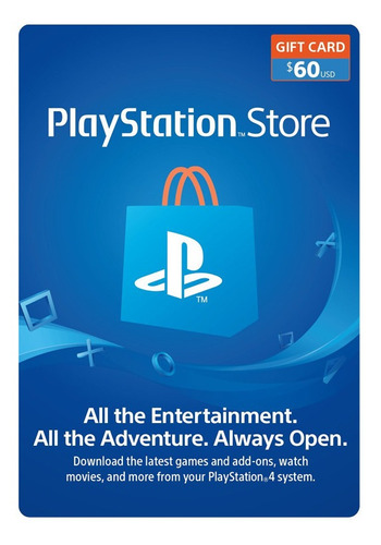 psn playstation ps4 store 60 usd codigo digital para juegos
